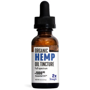 Essential CBD Oil - Organic Hemp Oil 1,000mg Bottle