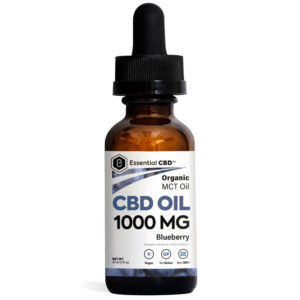 Essential CBD Oil - Blueberry 1,000mg Bottle