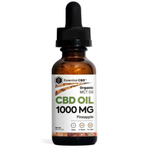 Essential CBD Oil - Pineapple 1,000mg Bottle