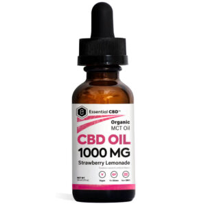 Essential CBD Oil - Strawberry Lemonade 1,000mg