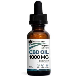 Essential CBD Oil - Unflavored 1,000mg