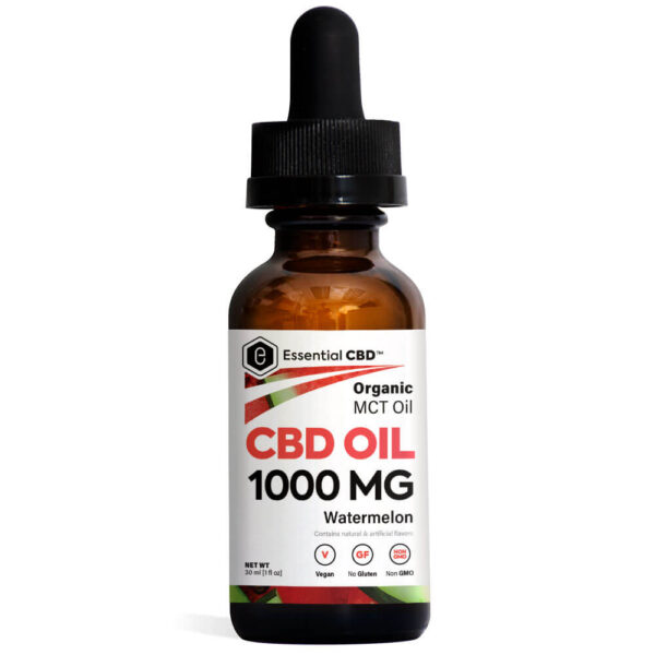 Essential CBD Oil - Watermelon 1,000mg