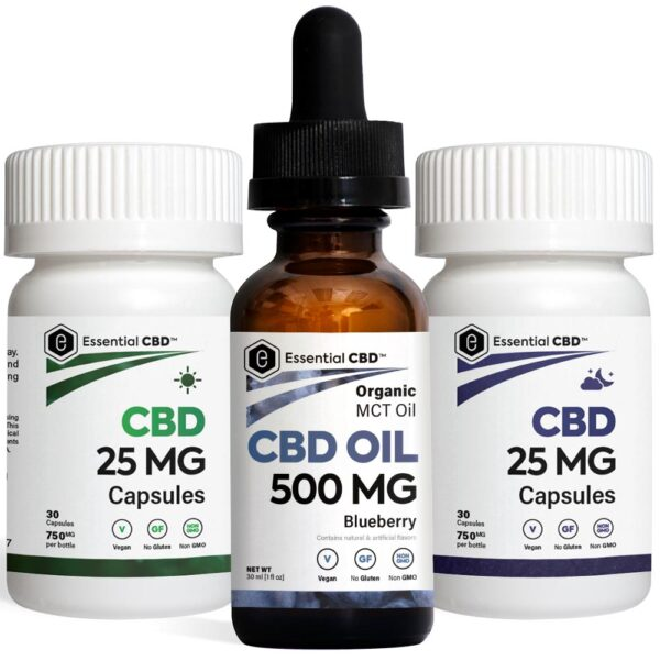 Blueberry 500 Tincture_Capsules Pack