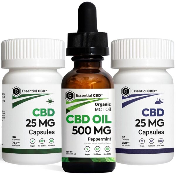 Peppermint 500 Tincture_Capsules Pack