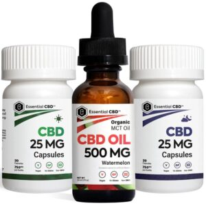 Watermelon 500 Tincture_Capsules Pack